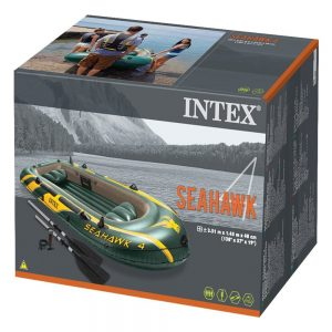 barca hinchable intex seahawk 4