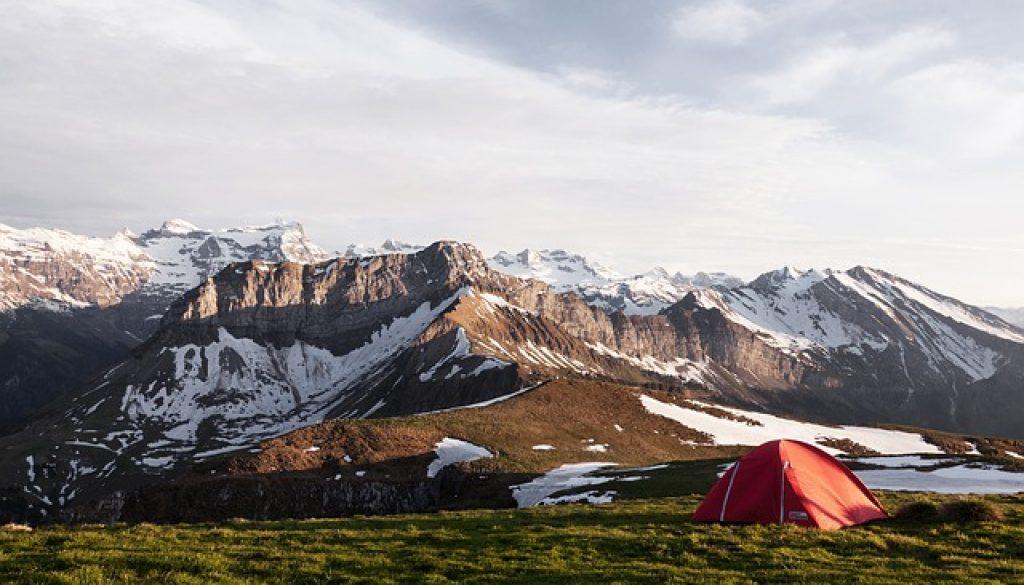 colchones hinchables de acampada