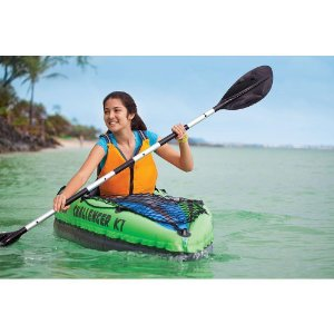 remo kayak hinchable individual intex