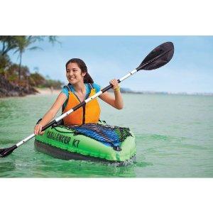 remo kayak hinchable individual intex