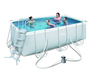 Piscinas desmontables tubulares rectangular Bestway