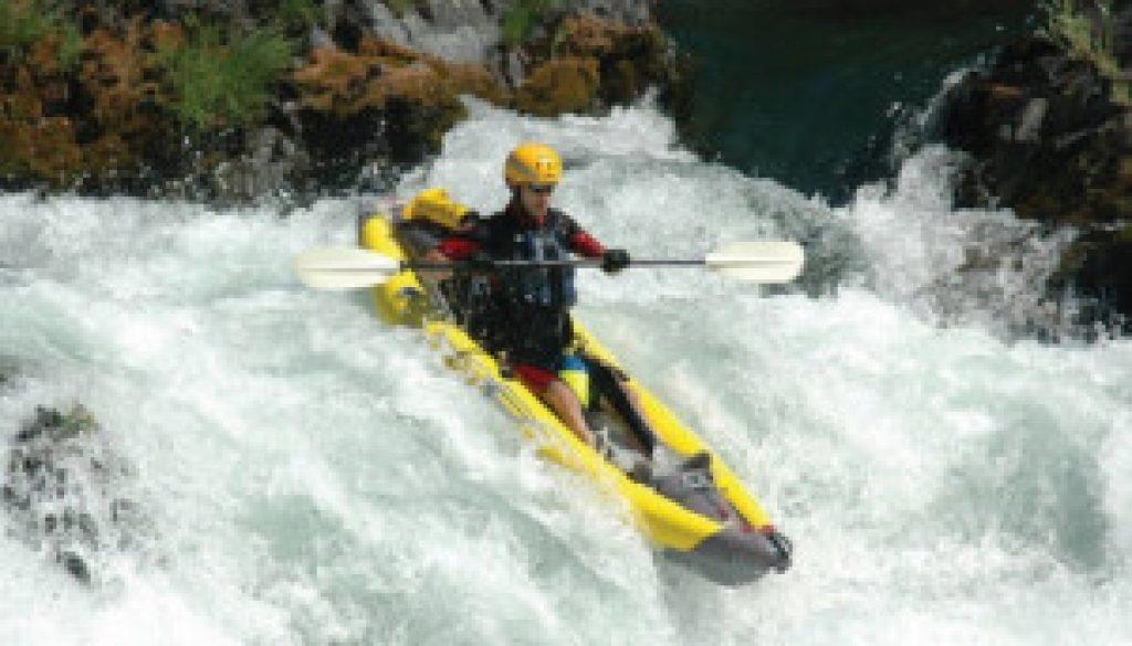 kayak hinchable rio