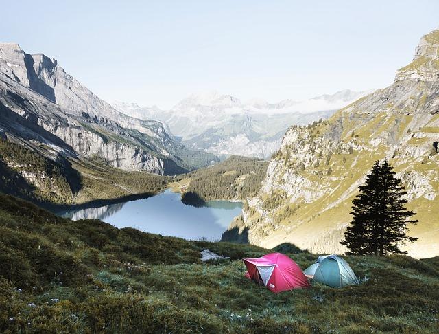 Esterillas hinchables de camping