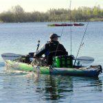 Kayak hinchable para pescar