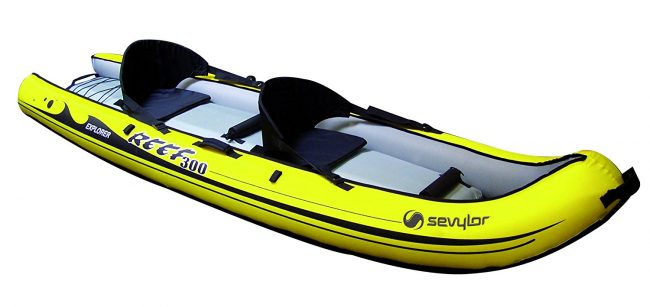 Sevylor kayak hinchable de pesca