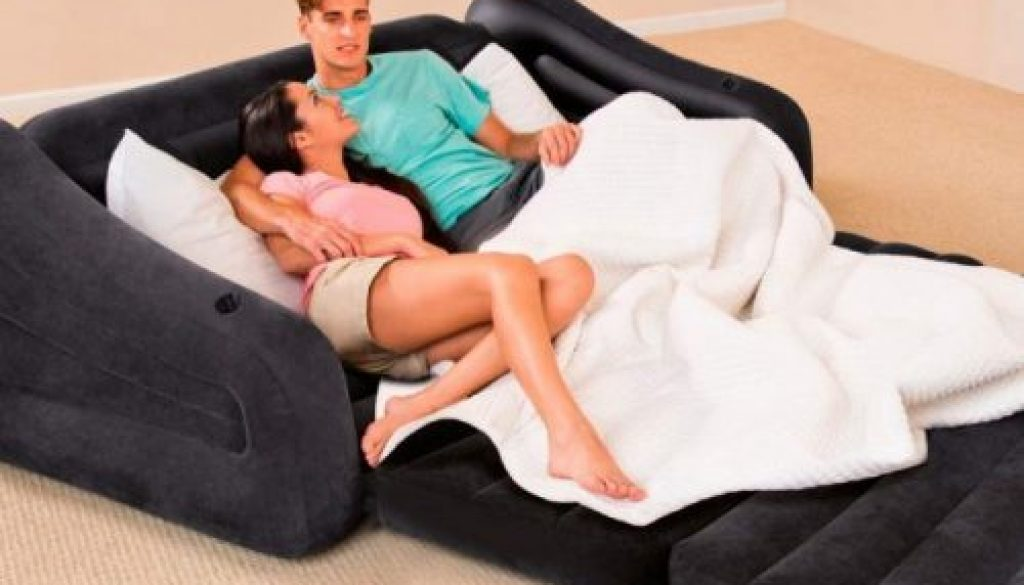 Sofá hinchable cama